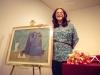 Isolda Dosamantes y su premio