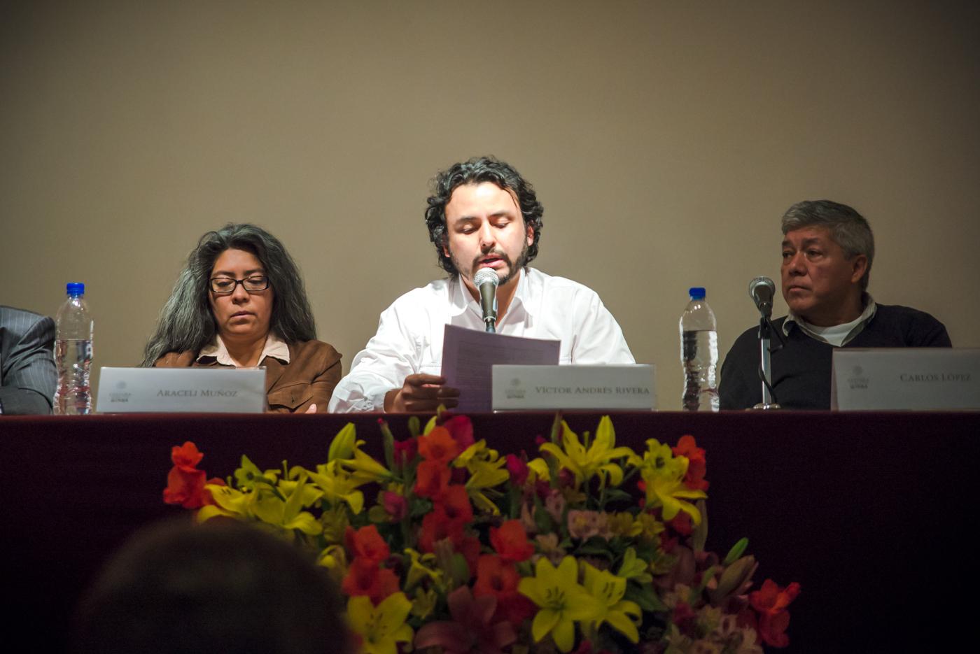 Entrega del Premio de Poesía Editorial Praxis 2016